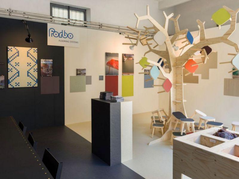 Philip Starck Introducing Flotex Floor Covering at Fuori Salone 2018