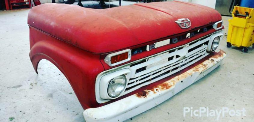 Pickup Truck Desk by Blue Sky Performance and Restoration