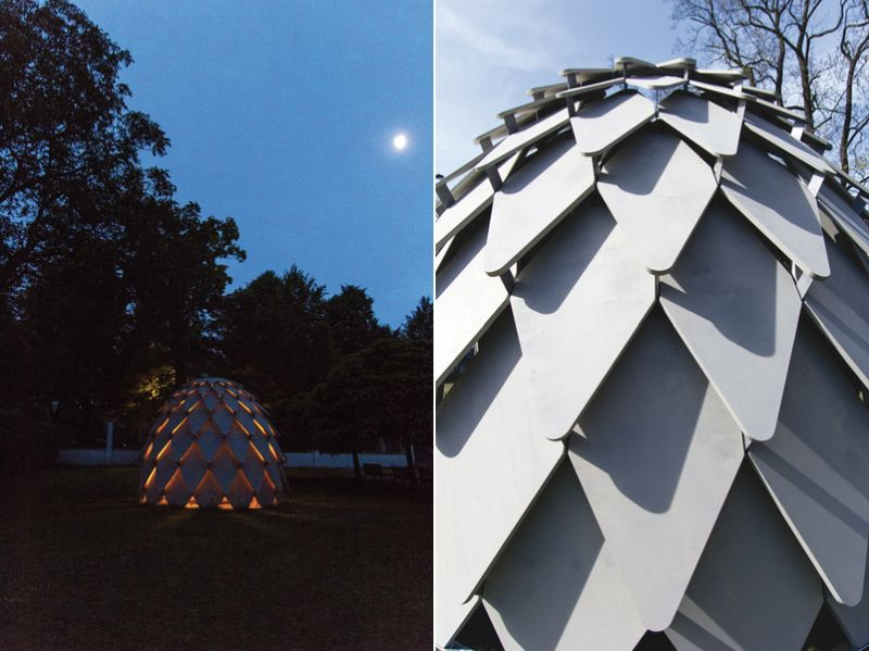 Pinecone Shaped Mobile Gazebo From Mmcit 201 1 And Atelier Sad