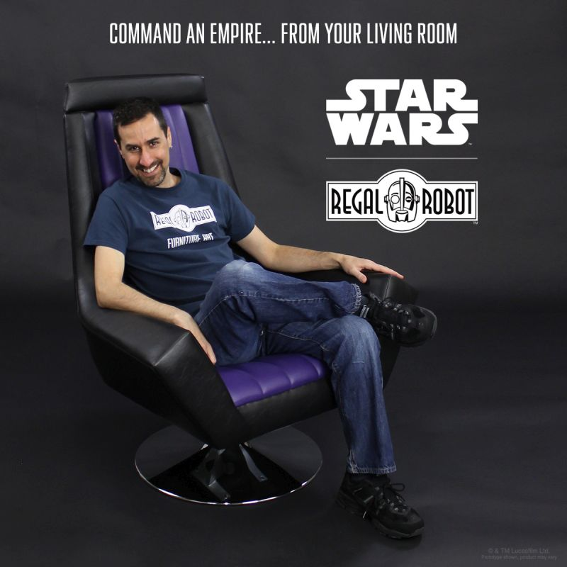 Embrace Your Dark Side with Star Wars Armchair by Regal Robot