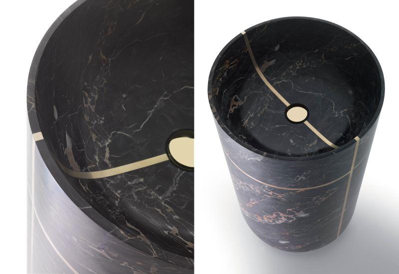 Tao washbasin by Marco Piva for Kreoo