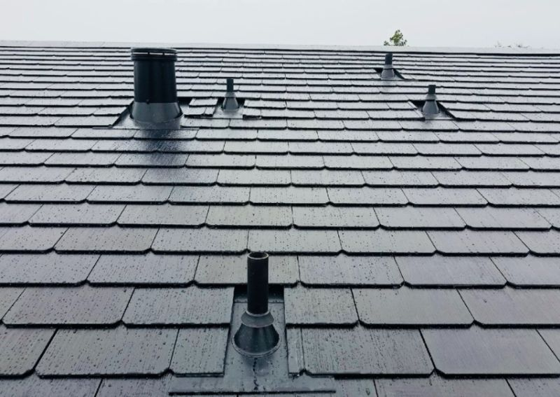 Tesla Solar Roof tiles - off grid sustainable energy