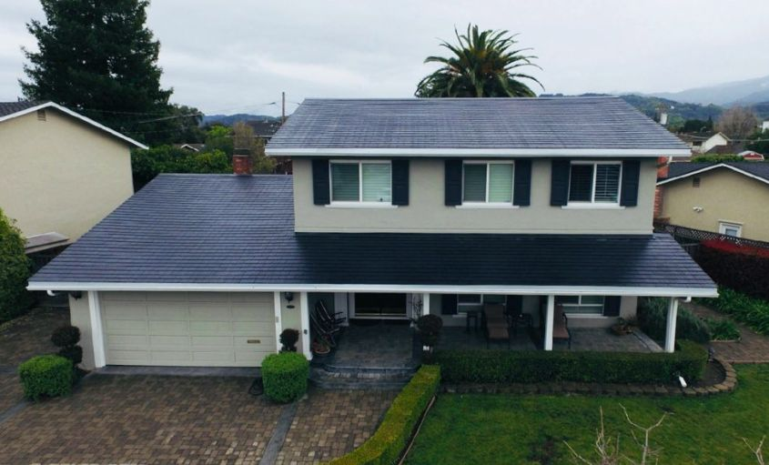 Tesla Solar Roof tiles - off grid sustainable energy