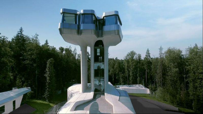 Vladislav Doronin's Capital Hill Residence Designed by Zaha Hadid