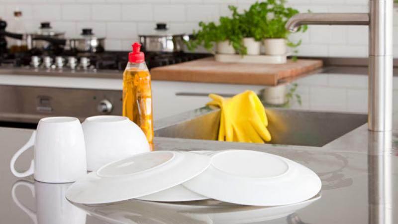 keep kitchen clean