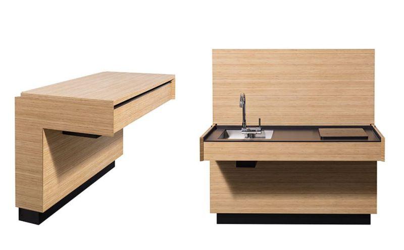 AC 01 designer compact kitchen by Atelier Mendini