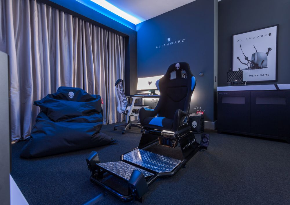 Alienware Room Hotel Hilton Panama - Interview with Andres Korngold Director of Business Development