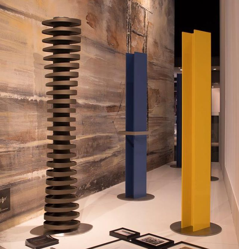 Antrax IT's T Tower Vertical Radiator for Modern Living Room