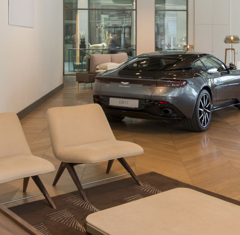 Armchair V219 by Aston Martin and Formitalia