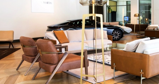 Aston Martin Partners With Formitalia for Luxury Furniture Collection