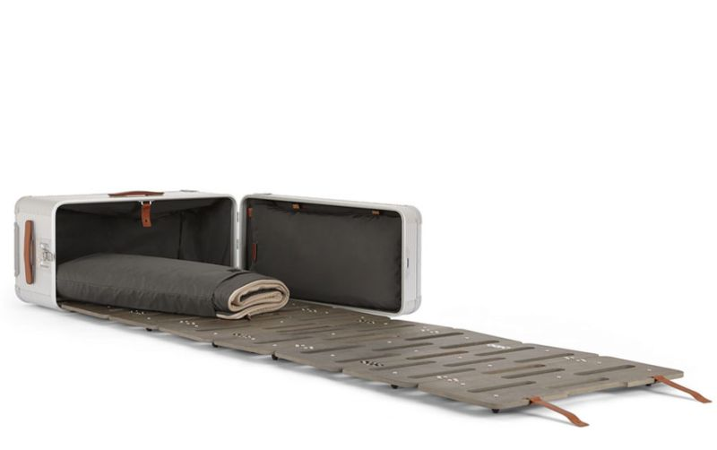 Marc Sadler's Transforming Travel Suitcases for Fabbrica Pelletterie Milano