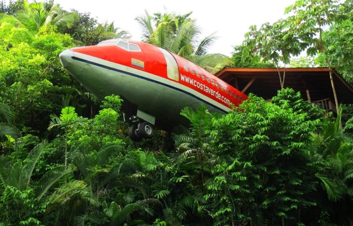Costa Verde Airplane Hotel in Costa Rica