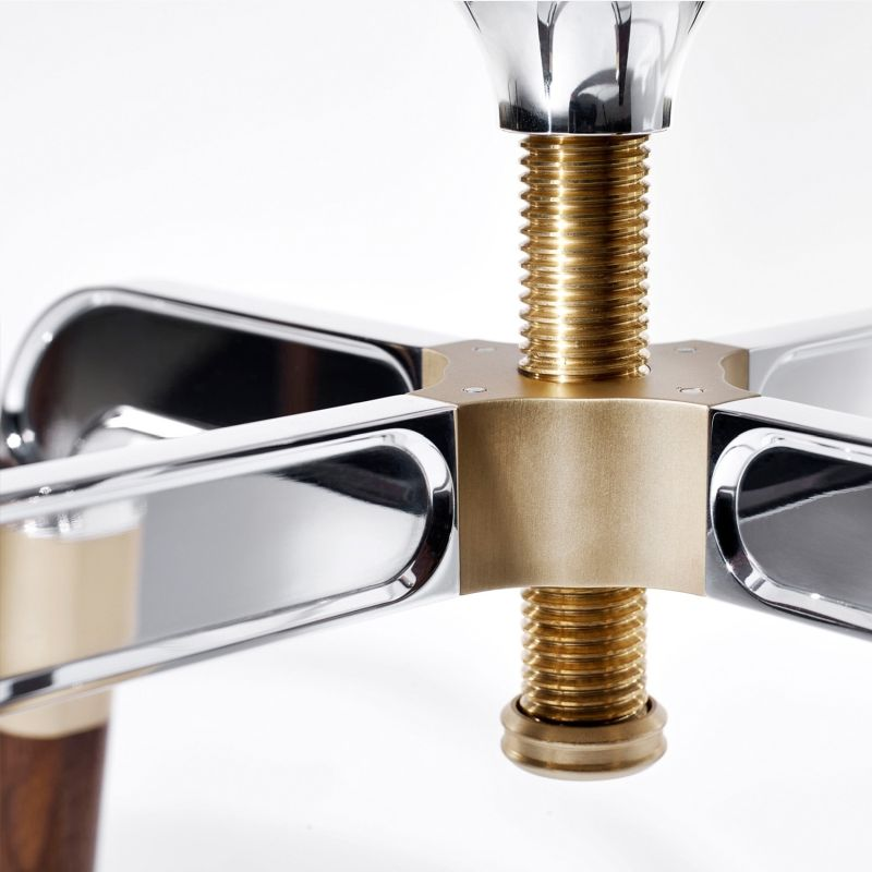 David Linley's Rifle Bar Stool with Shotgun-Inspired Legs