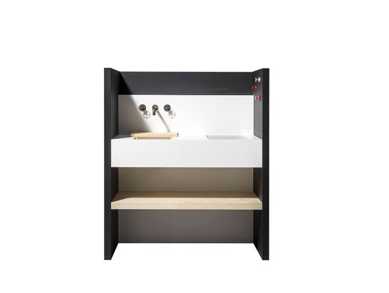 EO 01 designer compact kitchen by Atelier Mendini