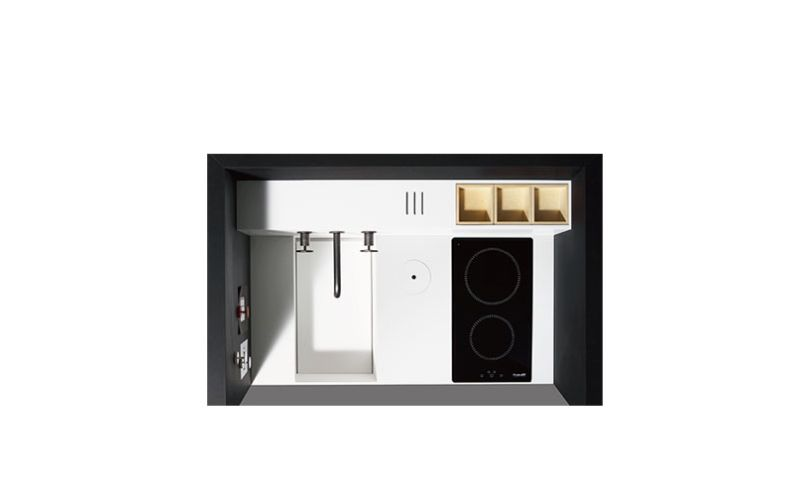 EO 01 designer compact kitchen by Atelier Mendini