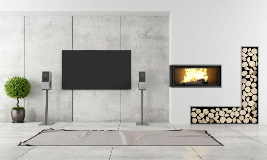 Gravelli Concrete Speakers