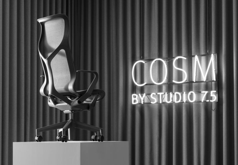 Herman Miller's Cosm Office Chair Automatically Adapts to User's Posture