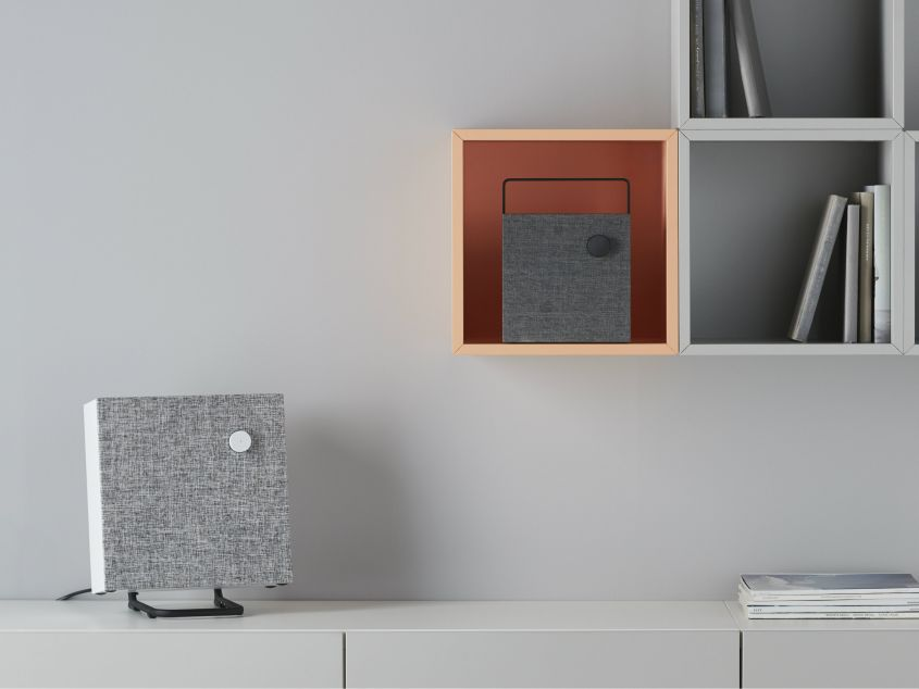 Ikea S Eneby Bluetooth Speakers With Removable Fabric Grille