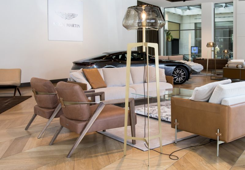 Lamps V258 by Aston Martin and Formitalia