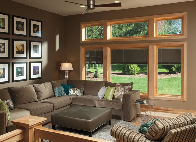 Pella Designer Series of between-the-glass blinds with Insynctive technology