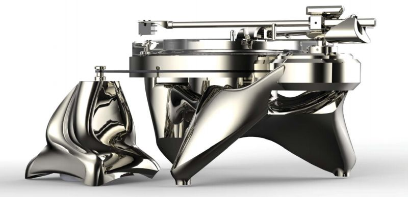Phonographic Preambulator Turntable by Metaxas & Sins