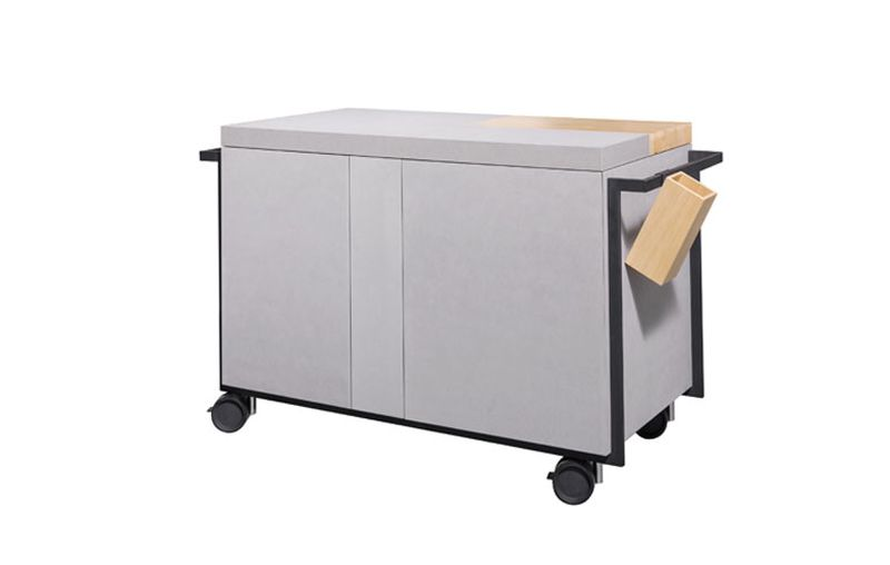 QB 01 designer compact kitchen by Atelier Mendini