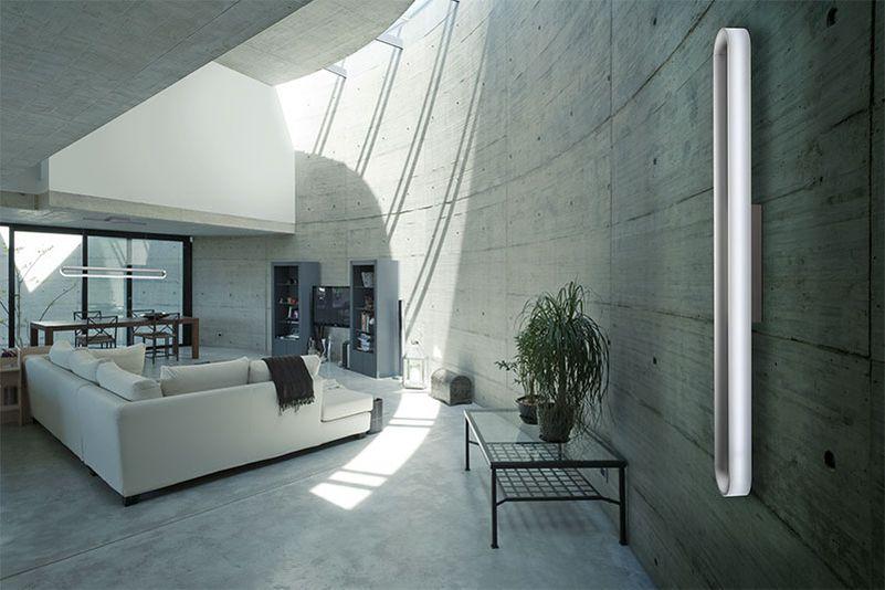 sigl licht s loop smart led lights add sculptural element to room. Black Bedroom Furniture Sets. Home Design Ideas