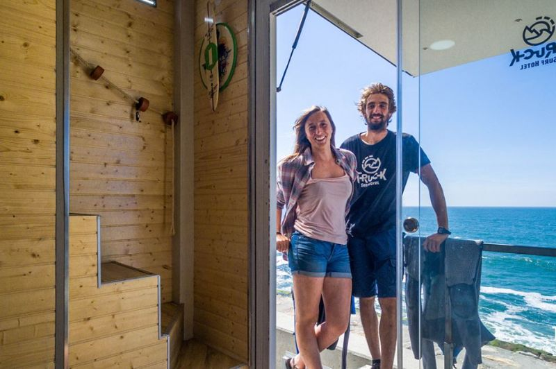 Truck Surf Hotel in Morocco is Dedicated to Avid Surfers