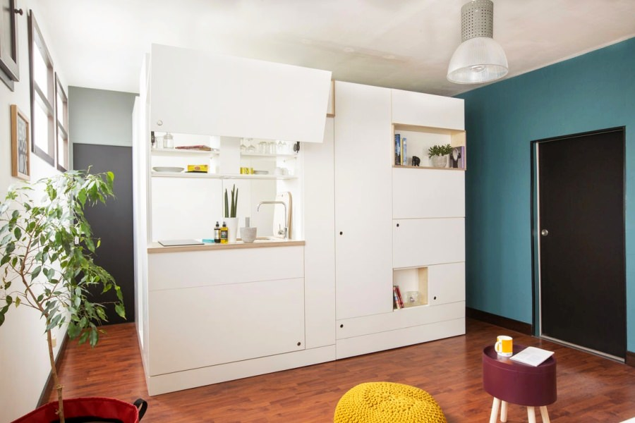 Very Good Box Multi-Functional Furniture for Small Apartments