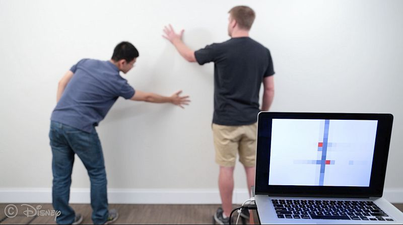 Wall++ Interactive Wall Paint by CMU and Disney Research