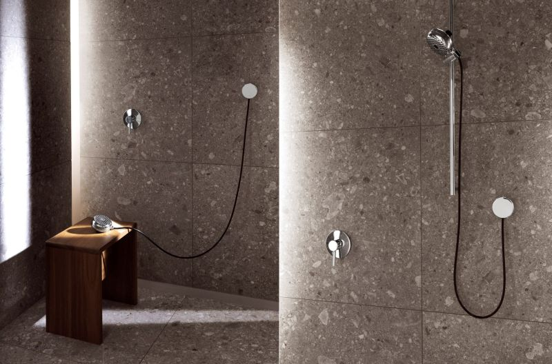 Watercandy Hand Shower by PalombaSerafini Associati for Zucchetti.Kos