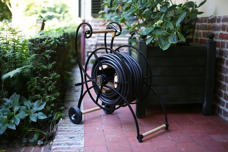 Waterette Garden Hose Cart is a Nostalgic Piece of Art for Your Garden