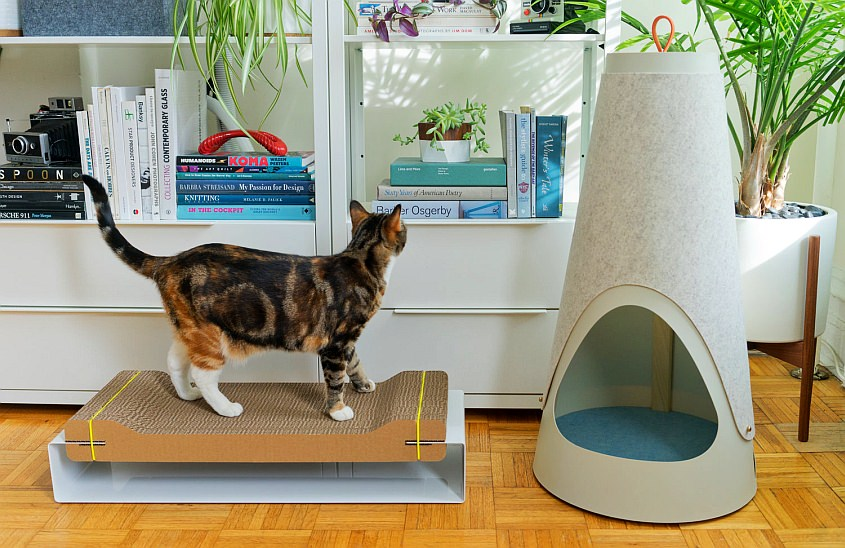 Wiski's Cat Furniture Seamlessly Blends into Modern Interiors