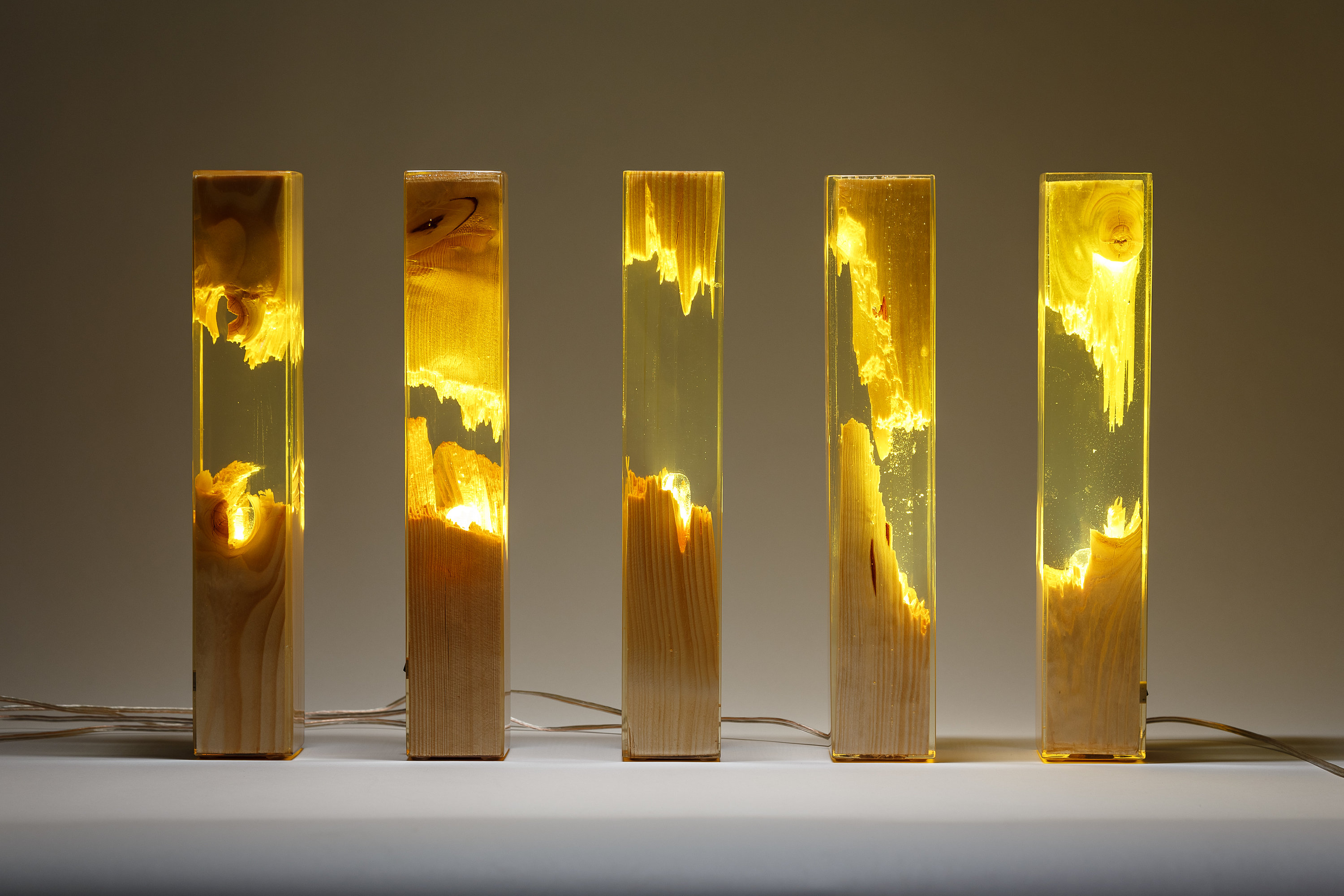 Wood And Resin Lamps By Guideco Design Interview