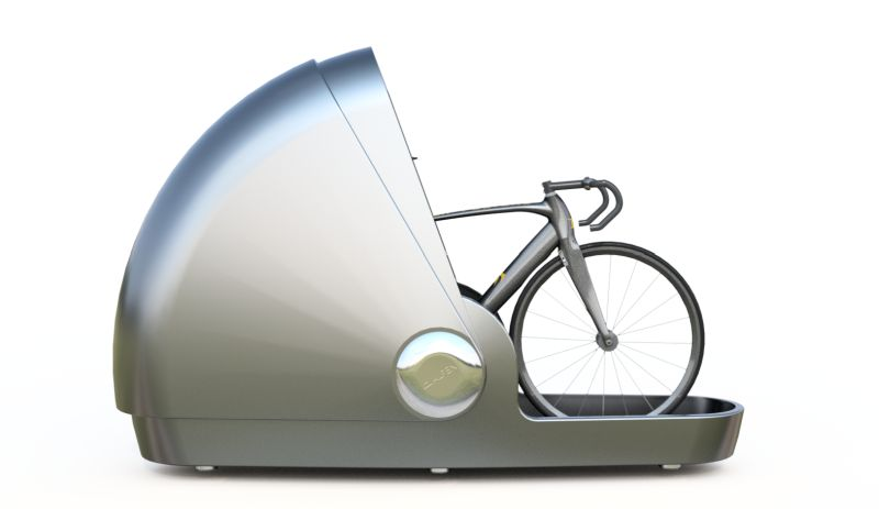 Alpen Bike Capsule: A Traveler-Friendly, Lockable Bike Storage Solution