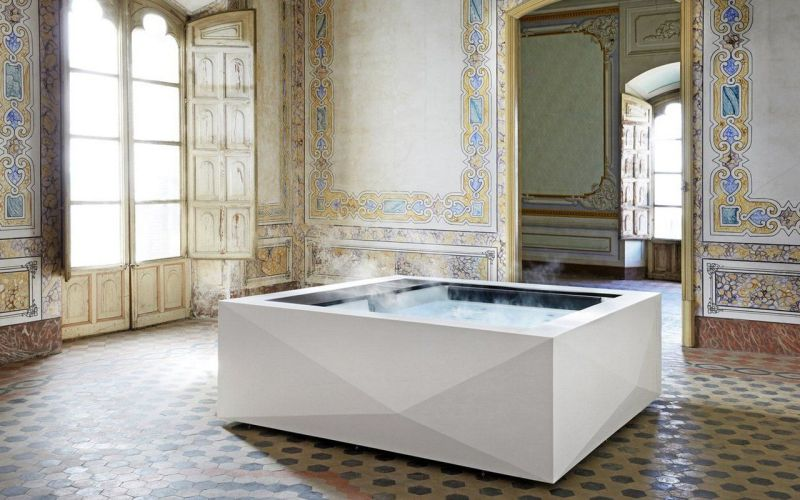 Take Your Bathroom to Next Level with Aquavia Spa's Origami Hot Tub