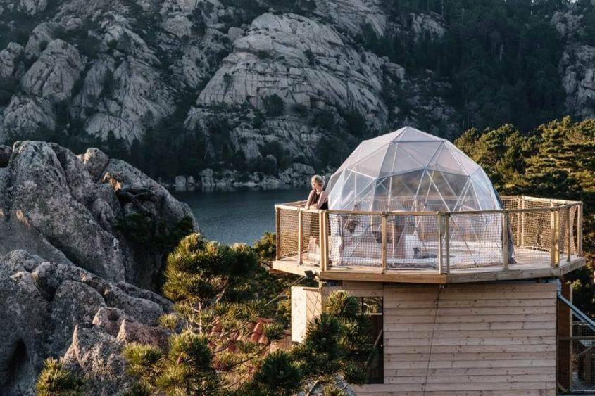 Atru Celu Rental Geodesic Dome in France for Glamping Lovers
