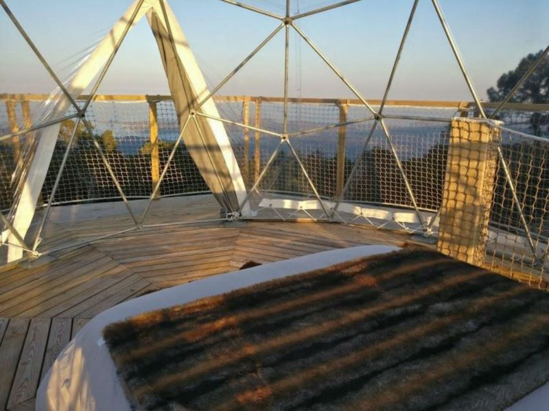 Atru Celu Rental Geodesic Dome in France for Glamping Lovers