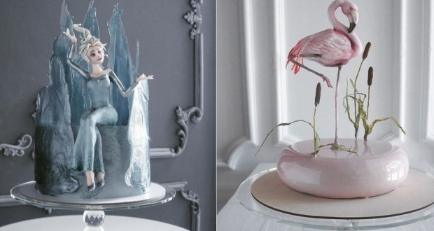 Beautifully-Designed Cakes by Elena Gnut That'll Give You Goosebumps