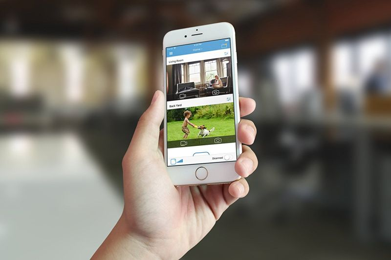 Blink indoor home security camera with motion detection