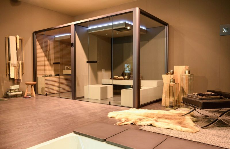 ChillOut Combines Home Sauna and Hammam into Single Unit