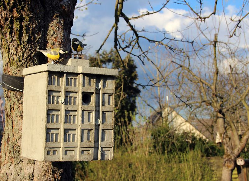 Concrete Cuckoo Clocks by Guido Zimmermann for Brutalism Fans