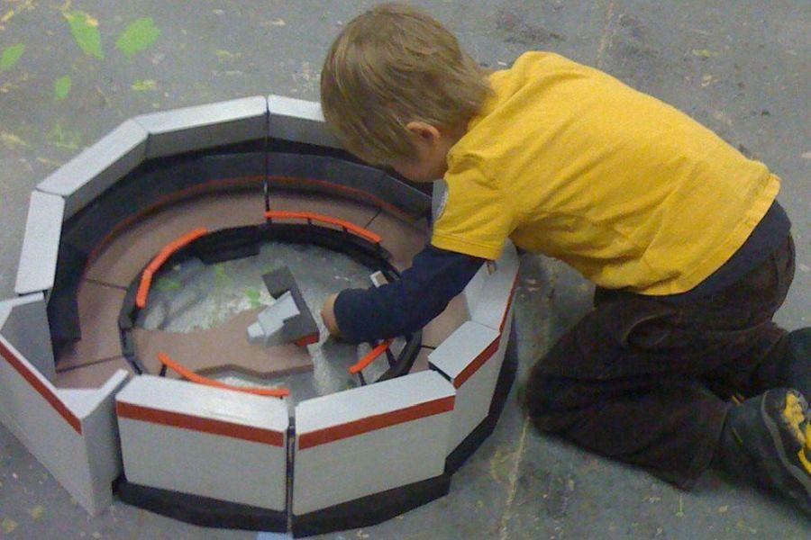 DIY Star Trek playset by David Weiberg