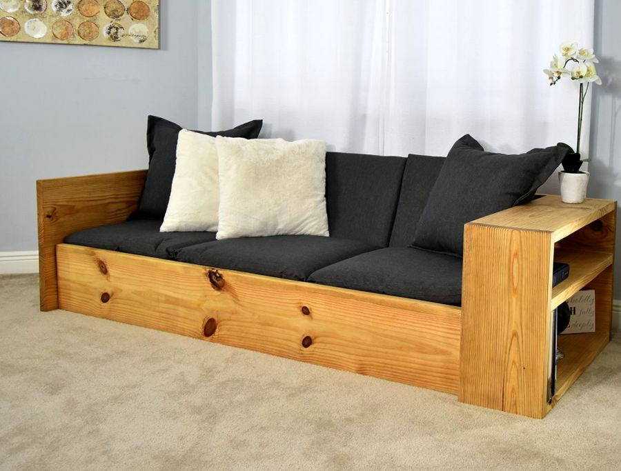 How To Build Space Saving Sofa Bed For Under 150