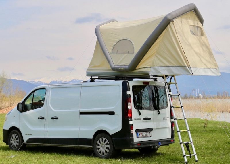 Gt Roof Inflatable Rooftop Tent Can Also Float On Water