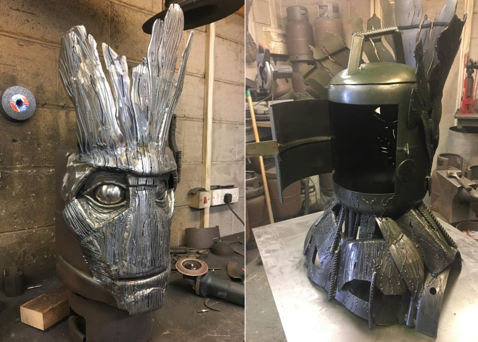 Groot Wood Burner and BBQ by Burned by Design