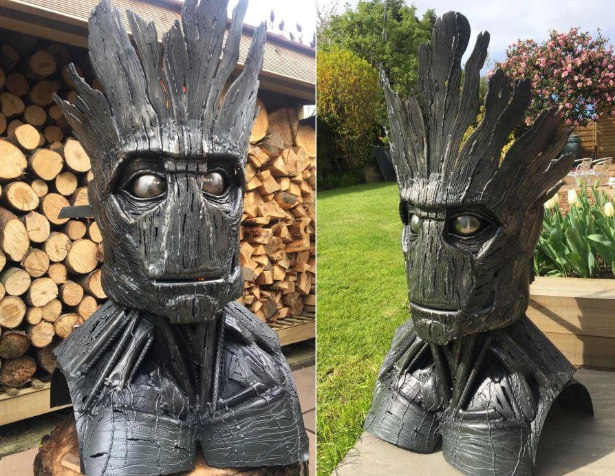 Groot Woodburner - Burned by Design