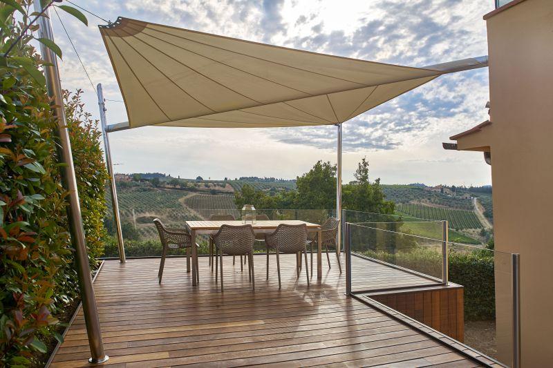 Retractable Pergola Canopy Cover