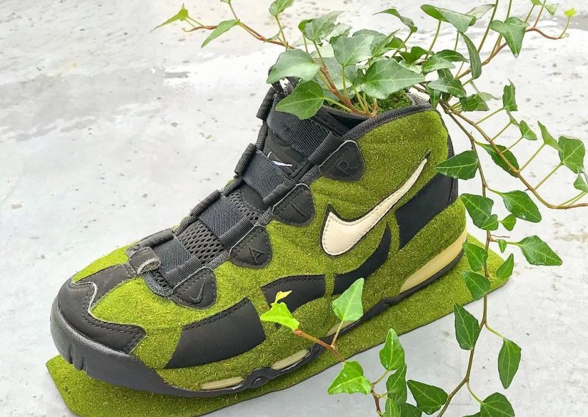 Kosuke Sugimoto Turns Old Sneakers into Mind-Blowing Moss Planters