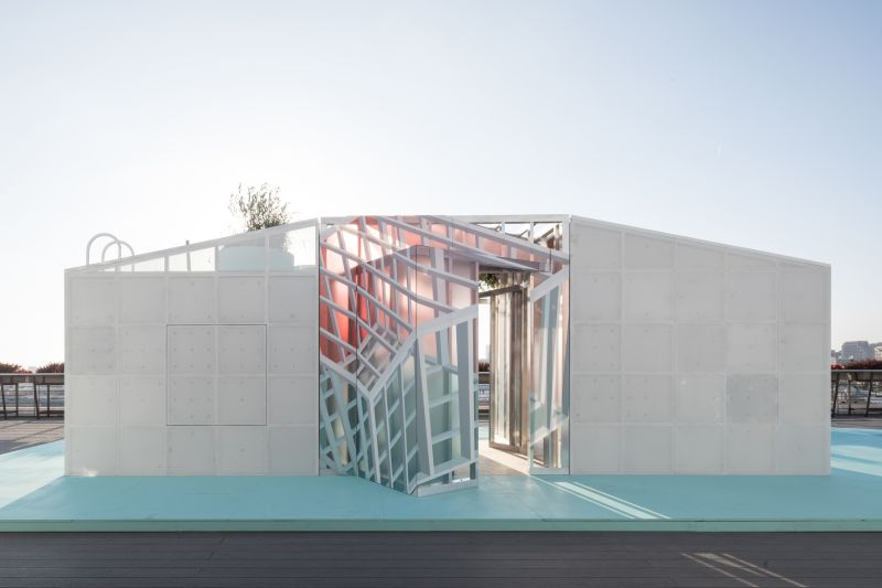MINI Living Urban Cabins by FreelandBuck at LA Design Festival